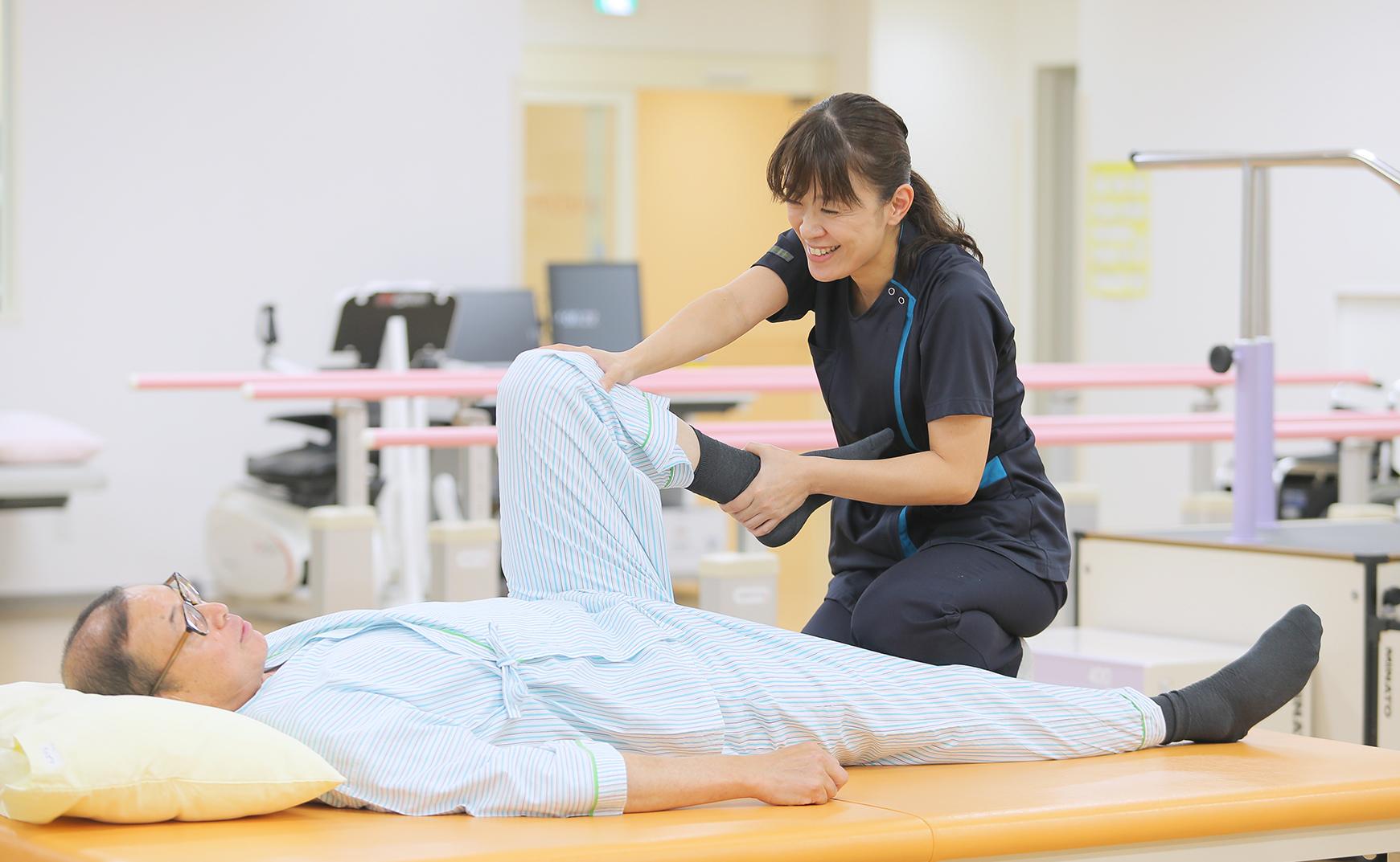 病初期から慢性期まで継続したケアを提供できる病棟イメージ